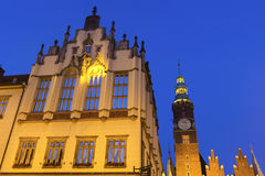 Wrocław Town Hall Stock Images
