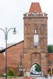 Wrocławska brama, Olesnica Zdjęcie Royalty Free