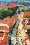 Wroclaw街道 库存照片