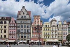 Wroclaw - αγορά Στοκ Φωτογραφίες