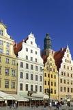 Wroclaw - ανατολικό μέρος της αγοράς Στοκ φωτογραφία με δικαίωμα ελεύθερης χρήσης