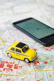 WROCLAW, ΠΟΛΩΝΙΑ - 11 ΑΥΓΟΎΣΤΟΥ 2016: Το Uber app είναι συχνά χρησιμοποιημένη μορφή αστικής μεταφοράς σε Wroclaw Στοκ φωτογραφία με δικαίωμα ελεύθερης χρήσης