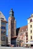 WROCLAW, ΠΟΛΩΝΙΑ - 12 09 2016: Παλαιό τετράγωνο πόλεων και αγοράς σε Wroclaw στην Πολωνία, Ευρώπη Στοκ φωτογραφίες με δικαίωμα ελεύθερης χρήσης