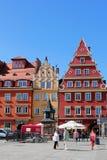 WROCLAW, ΠΟΛΩΝΙΑ - 12 09 2016: Παλαιό τετράγωνο πόλεων και αγοράς στην Πολωνία, Ευρώπη Στοκ Φωτογραφία