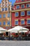 WROCLAW, ΠΟΛΩΝΙΑ - 12 09 2016: Παλαιό τετράγωνο πόλεων και αγοράς στην Πολωνία, Ευρώπη Στοκ εικόνα με δικαίωμα ελεύθερης χρήσης
