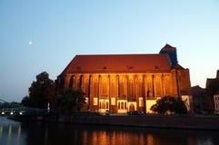 Wroclaw, Πολωνία - ευρωπαϊκό κεφάλαιο του πολιτισμού 2016 στοκ φωτογραφία