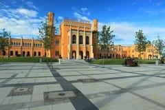 wroclaw главным образом станции Стоковые Изображения RF