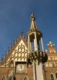 wroclaw городка Польши залы Стоковая Фотография RF