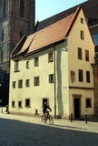 wroclaw Польши дома hansel gretel стоковые фотографии rf