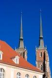 wroclaw Польши памятников Стоковое Изображение