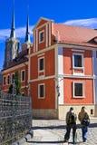 wroclaw Польши памятников Стоковая Фотография RF