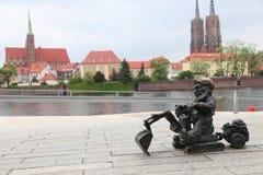 wroclaw Польши стоковые фотографии rf