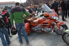 wroclaw ралли Польши мотоцикла Стоковая Фотография RF
