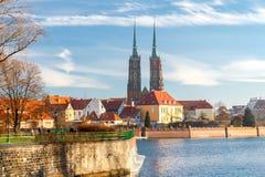 wroclaw 圣约翰大教堂 库存图片