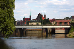Wroclaw. View on a  town Stock Photo