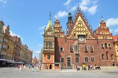wroclaw 免版税库存照片