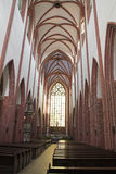 Wroclaw. St Elizabeth Church interior in Wroclaw, Poland Royalty Free Stock Image