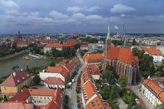wroclaw Στοκ φωτογραφία με δικαίωμα ελεύθερης χρήσης
