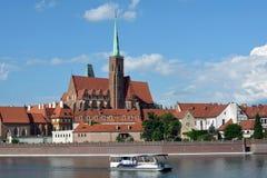 Церковь святой девой марии в Wroclaw - Польше Стоковое Изображение