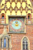 Wroclaw. The ancient town hall building Royalty Free Stock Image