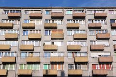 Wroclaw Apartment Building Stock Photography