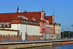 Wroclaw - Bibliotheek Ossolineum Royalty-vrije Stock Foto's
