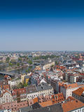 Wroclaw (Breslau), Poland, frome above Stock Photos