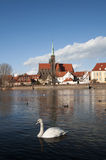 Wroclaw (Breslau) view  from the river Royalty Free Stock Image