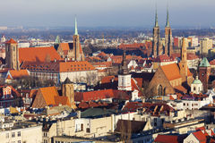 Wroclaw Cathedral and Collegiate Church Royalty Free Stock Photography