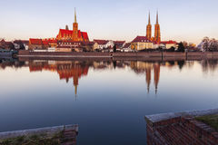 Wroclaw Cathedral and Collegiate Church Stock Photography