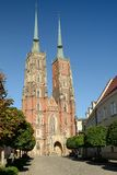 Wroclaw cathedral, Poland Stock Images