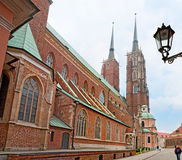 The Wroclaw Cathedral Royalty Free Stock Photo
