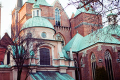 Wroclaw, Cathedral of St. John in Wroclaw Stock Images