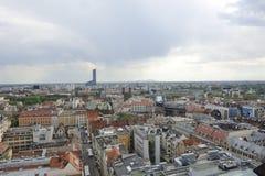 Wroclaw - centrum Arkivfoto