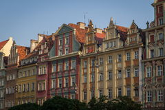 Wroclaw city Royalty Free Stock Images