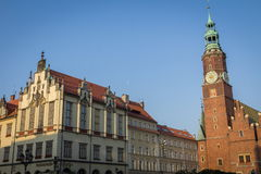 Wroclaw city Stock Photography