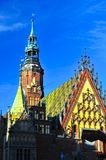 Wroclaw City hall royalty free stock photos
