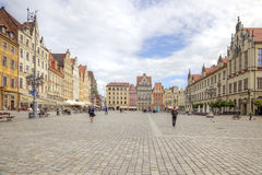 Wroclaw, cityscape stock foto's