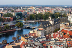 Wroclaw Cityscape Stock Image