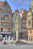 Wroclaw, cityscape. Pillory Stock Image