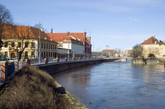 Wroclaw cityscape, Poland Royalty Free Stock Photography