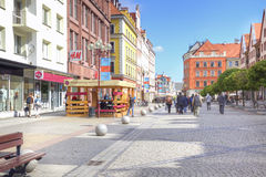 Wroclaw, cityscape Stock Photography