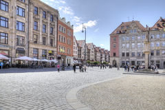 Wroclaw, cityscape Royalty Free Stock Photo