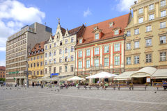 Wroclaw, cityscape Royalty Free Stock Images