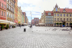 Wroclaw, cityscape Stock Image