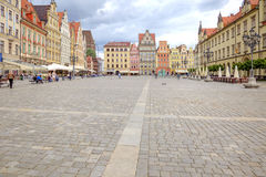 Wroclaw, cityscape Royalty Free Stock Photography