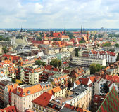 Wroclaw cityscape Royalty Free Stock Photos