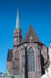 Wroclaw de l'église 1112AD de rue Adalberts Photo stock