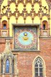 wroclaw Den forntida stadshusbyggnaden Royaltyfri Bild