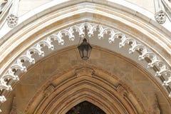Wroclaw domkyrkadomkyrka av St John den baptistiska gotiska stilen, kyrka, Wroclaw, Polen Arkivfoto